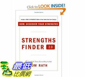 [美國直購] 2012 美國秋季暢銷書排行榜StrengthsFinder 2.0 $836