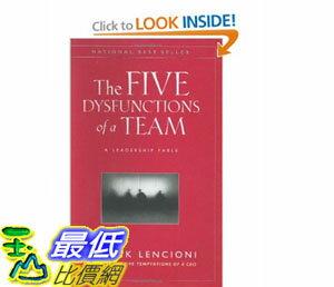 [美國直購]2012 美國秋季暢銷書排行榜The Five Dysfunctions of a Team: A Leadership Fable$979