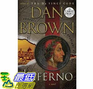 [美國直購] 2012 美國秋季暢銷書排行榜Inferno: A Novel (Random House Large Print)$1126