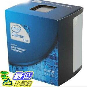 [美國直購 ] Intel Celeron 處理器 G1610 2.60GHz LGA 1155 Processor BX80637G1610 $2020