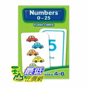 104美國直購  Numbers~25 Flash Cards 312