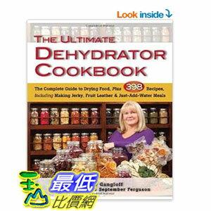 ^~104美國直購^~ Ultimate Dehydrator Cookbook The: