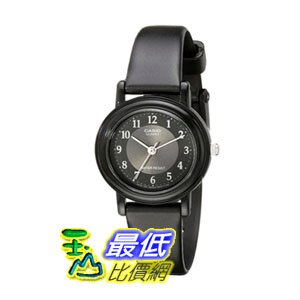 [104美國直購] Casio Women's LQ139A-1B3 女士手錶 Black Classic Analog Casual Watch
