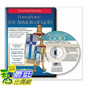<br/><br/>  [104美國直購] The Armor of God (PowerPoint presentation) (Armor of God -- Stand Firm in Faith!) (PowerPoint Presentations) $1879<br/><br/>