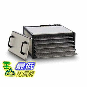[104美國直購] 伊卡莉柏 Excalibur 5-Tray Stainless Steel D500SHD 不鏽鋼食物乾燥機 風乾機 五層 $19800