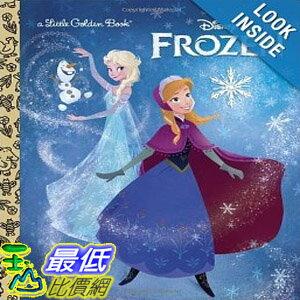 【103 美國直購 】2014 美國銷書榜單 迪士尼 冰雪奇緣  Frozen Little Golden Book (Disney Frozen) $315