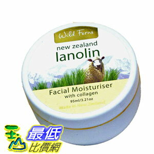 [103 美國直購 ShopUSA] 面霜 Lanolin and Collagen Face Cream by Wild Ferns $586