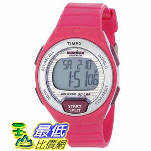 [103 美國直購 ShopUSA] Timex 手錶 Ironman Oceanside 30-Lap Pink Resin Strap Ladies Watch T5K761