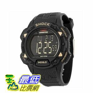 [103 美國直購 ShopUSA] Timex Expedition Shock Digital Black Resin 男士手錶 T49896