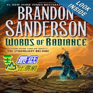 【103玉山網 】 2014 美國銷書榜單 Words of Radiance (The Stormlight Archive, Book 2)  $941