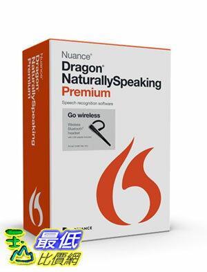 <br/><br/>  [104美國直購] Dragon 耳機 B00LX4C4W4 NaturallySpeaking Premium 13 Bluetooth $12295<br/><br/>