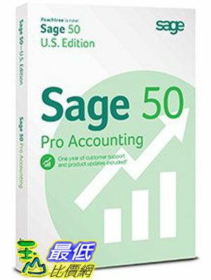 [104美國直購] Sage 50 Pro 會計軟體 B00M28KGN4 Accounting 2015 with $30985