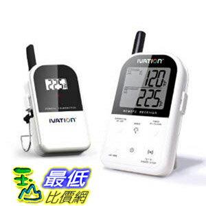 [104美國直購] Ivation Long Range 無線數字溫度計 B00ANCXJR6 Digital Thermometer Set $2719