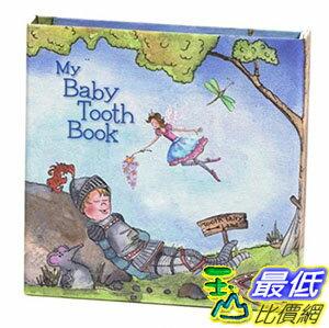 [103 美國直購 ShopUSA] 進口 Baby Tooth Album Keepsake Flapbook 乳齒保存盒/乳牙保存盒/乳牙盒/乳齒盒 圖書款 男孩藍色 女孩粉色