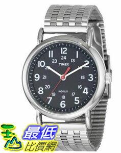 [103 美國直購 ShopUSA] Timex 手錶 Unisex Watch T2N655KW Black Dial Stainless Steel Bracelet  _mr