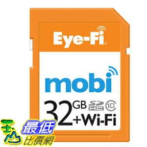 [104美國直購] Eye-Fi Mobi 32GB 相機儲存卡 Class 10 SDHC _900032 $3265