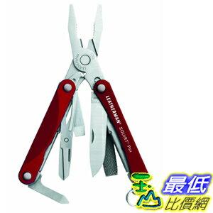 [美國直購] 迷你工具刀 紅色款 Leatherman 831189 Squirt PS4 Black Keychain Tool with Plier
