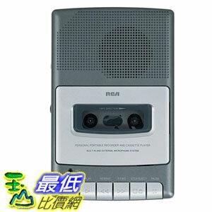 """[103 美國直購 ShopUSA] RCA 錄音 RP3504 Cassette """"Shoebox"""" Voice Recorder $1699"""