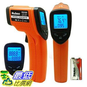 [104美國直購] Nubee B00JCFPODM 非接觸紅外測溫儀 Orange/Black $1034