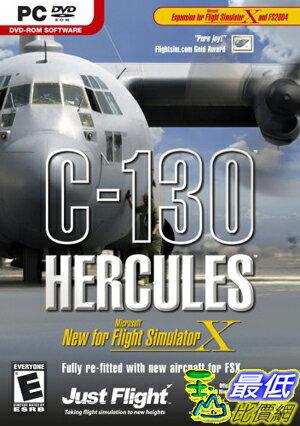 [103 美國代購] C-130 Hercules X Expansion for MS Flight Simulator X - PC 飛行模擬器 $1748