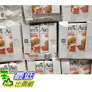 [103 限時限量促銷] COSCO 番石榴綜合果汁 每瓶1公升X 6入 ACRES GUAVA JUICE _C103396 $397