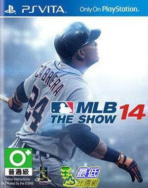 (現金價)PSV Vita PSV 美國職棒大聯盟14 MLB 14 THE SHOW 英文 (亞版) AD2 $1125