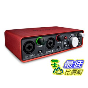 <br/><br/>  [美國直購 ShopUSA] 進口 Focusrite Scarlett 2i2 USB 錄音介面 (全新盒裝) 2in/2out Audio Interface 錄音盒 錄音卡 $6499<br/><br/>