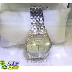 [COSCO代購] TISSOT 男錶 不?鋼錶殼帶 瑞士機芯 三點鐘日期窗 白色錶面 _C795570 $17613