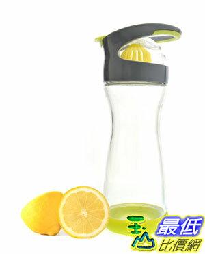 [103 美國直購 ShopUSA] Full Circle Wherever Water Lemon Infuser 20-ounce 檸檬杯 玻璃瓶 $998
