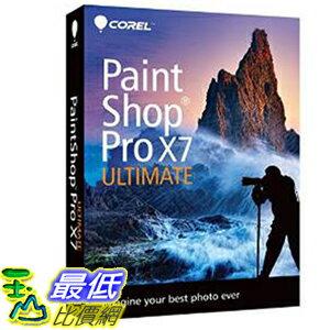 [104美國直購] Corel B00LYYMXB0 照片編輯軟件 PaintShop Pro X7 Ultimate $3288