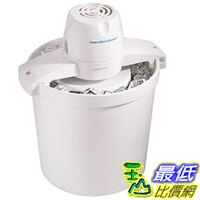 消暑廚房家電到[美國直購] 自動冰淇淋機 Hamilton Beach 68330R/68330N 4-Quart Automatic Ice-Cream Maker, White _U3