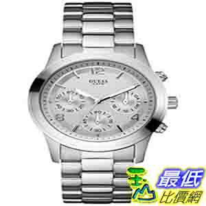 [美國直購 ShopUSA] Guess 手錶 Women's U12605L1 Silver Stainless-Steel Quartz Watch with Silver Dial $4800