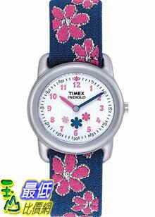 [美國直購 ShopUSA] Timex 手錶 Children's T74951 Blue Cloth Analog Quartz Watch with White Dial