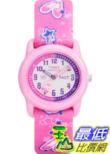[美國直購 ShopUSA] Timex 手錶 Children's T7B151 Pink Cloth Quartz Watch with Pink Dial