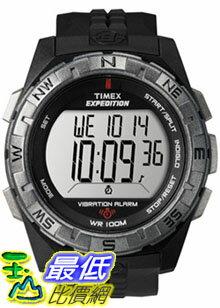[美國直購 ShopUSA] Timex 手錶 Men's Expedition T49851 Black Resin Quartz Watch with Digital Dial