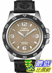 [美國直購 ShopUSA] Timex 手錶 Men's Expedition T49885 Black Nylon Quartz Watch with Beige Dial