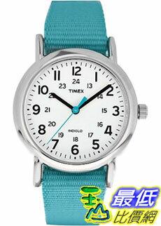 [美國直購 ShopUSA] Timex 中性男女通用錶  Weekender T2N836 Blue Nylon Quartz Watch #168188443