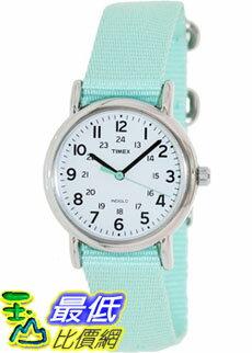 [美國直購 ShopUSA] Timex 中性男女通用錶  Weekender T2P073 Green Nylon Analog Quartz Watch #1681891771