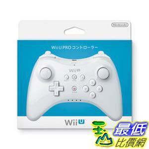 [刷卡價] Wii U週邊 Wii U PRO原廠無線控制器 無線手把 專用傳統手把 白色