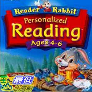 [美國兒童教育軟體] Reader Rabbit Reading Ages 4-62 $650