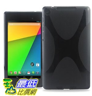 [美國直購 USAShop] KAYSCASE 保護套 X-Shape TPU Back Case Cover for New Nexus 7 2013, 2nd Jelly Bean Android 4.3