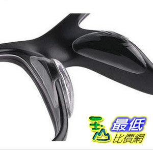 [玉山最低比價網] 1.8mm 1對2片 柔軟矽膠墊高鼻墊 板材鼻托 增高鼻貼 眼鏡防滑鼻 M size  (_F118)
