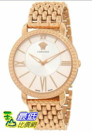 [美國直購禮品暢銷排行榜] Versace 手錶 Women's M6Q80D002 S080 Krios Rose IP Watch $35899