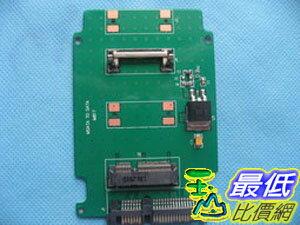 [玉山最低比價網] mSATA (mini pci-e)轉 2.5 寸 SATA (7+15 針)轉接卡(M817__M25)
