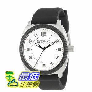 [美國直購] 男士手錶 Kenneth Cole REACTION Unisex RK1273 Street Sport Watch with Black Silicone Band $2173