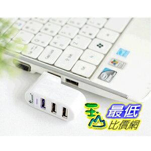 [103 玉山最低比價網] 源欣旋彩 USB2.0HUB 筆記本專用3口USB分線器 旋轉USB HUB (_JC33) $99