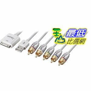 [103 美國直購 USAShop] RF-AP301 30-Pin to Component AV/USB $1862
