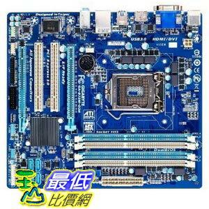[103 美國直購 USAShop] Gigabyte 主機板 LGA 1155 Intel B75 SATA 6Gb/s USB 3.0 Micro ATX DDR3 1600 Motherboards GA-B75M-D3H $3639