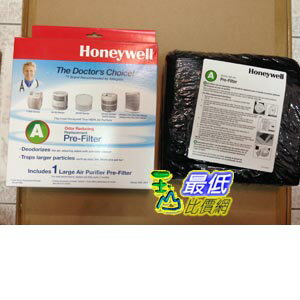 [原廠濾網] Honeywell 38002 清淨機活性碳濾網 Honeywell Carbon Air Purifier Replacement Pre-Filter, HRF-AP1/Filter..