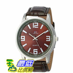 [103 美國直購] 男士手錶 U.S. Polo Assn. Classic Men's US5166 Watch with Brown Leather Band  $1123
